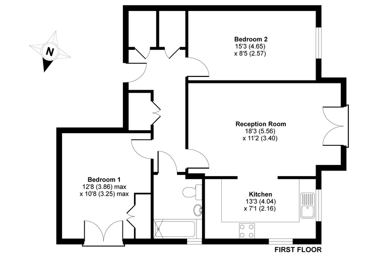 44 Honeysuckle floorplan