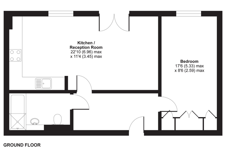5 Greensted floorplan
